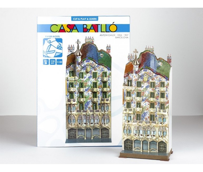 Casa Batllo Paper Model
