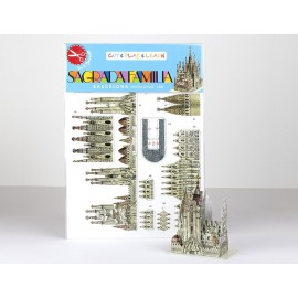 Mini Kit Recortable Sagrada Familia