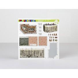 Carte en papier La Pedrera