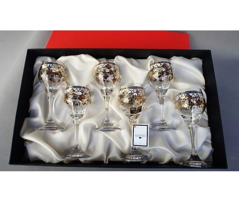 Set de 6 mini verres de vin