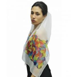 Fulard de seda Trencadís