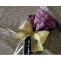 Personalized Silk Flower Scarf
