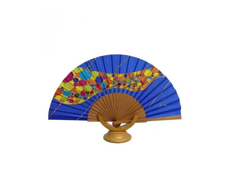 Barcelona Park Güell Silk Fan