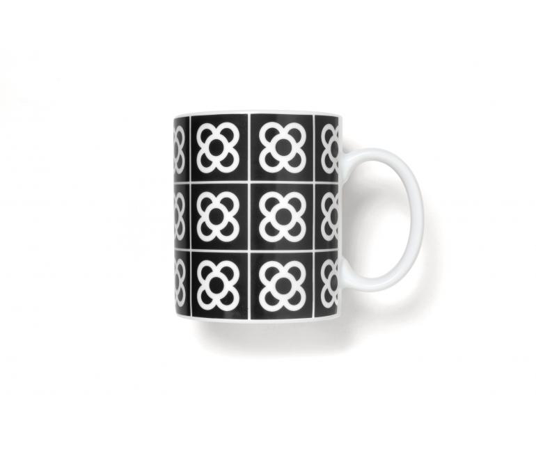 Barcelona Flower Tile Mug