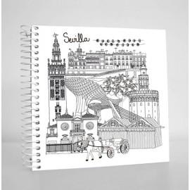 Libreta con espiral Sevilla