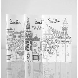 Sketching Sevilla Memo Set 3