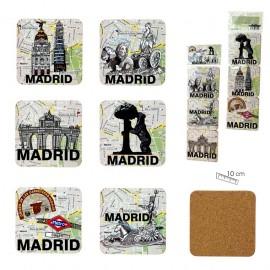 Set de 6 posavasos Madrid