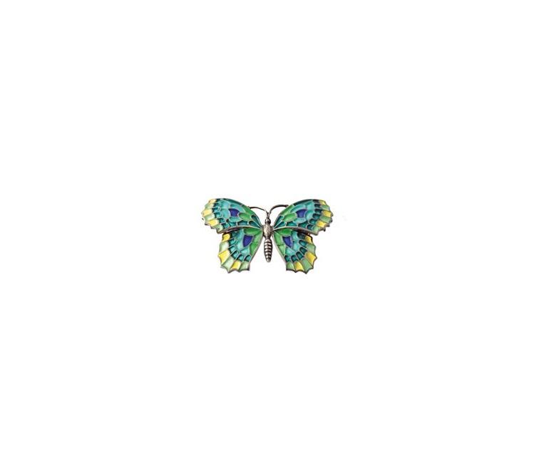 Pendant Vert Papillon Gaudí