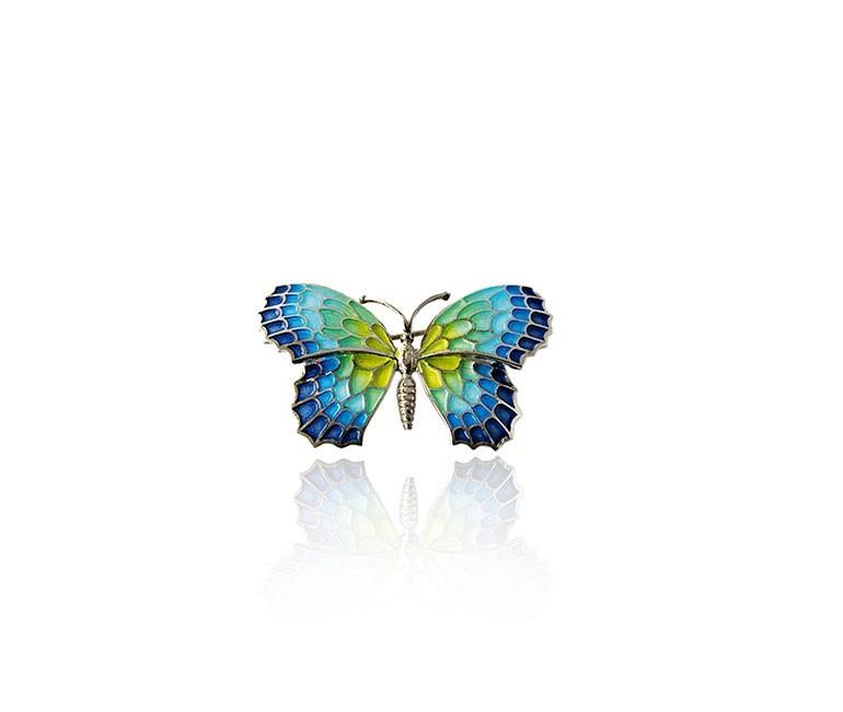 Colgante Mariposa Azul Gaudí