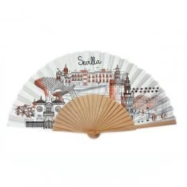 Éventail Sevilla Sketching