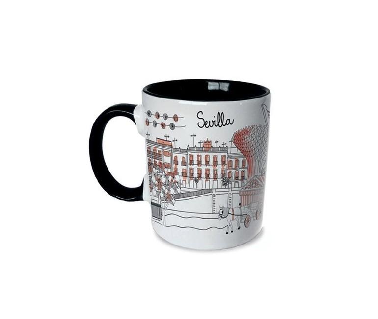 Sketching Sevilla Mug