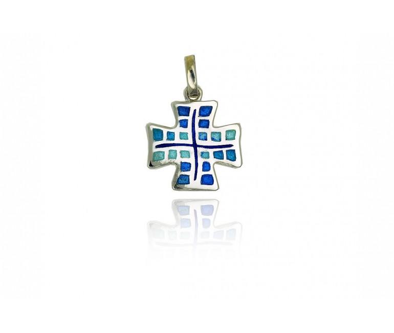 Cross trencadis elements