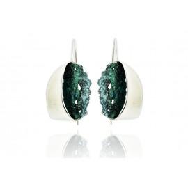 Boucle d'oreille Gala Vert