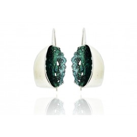 Green Gala Earrings