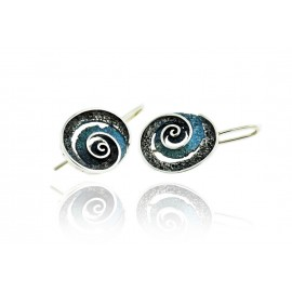 Round Riera earrings