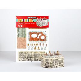 La Pedrera - Casa Mila Mini Puzzle 3D