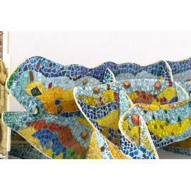 The Lizard - Park Guell Mountable