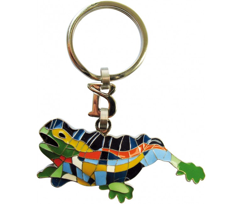 Lizard Key Ring