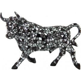 Silver Gaudí Trencadis Bull