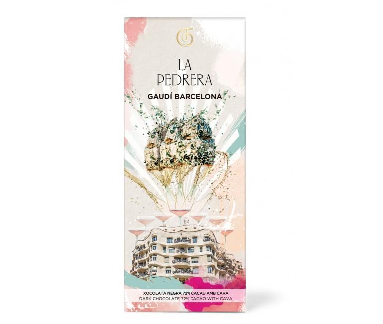 Black chocolate with champagne La Pedrera