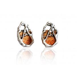 Boucles d'oreilles surréaliste Gaudí