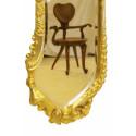 Gilding Calvet Mirror - Medium