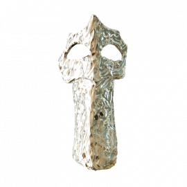 Broche en argent cheminée Pedrera