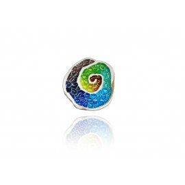 Gaudi Trencadis Snail-shaped Pendant