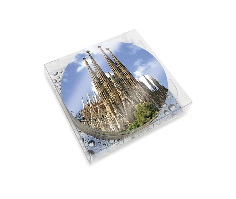 Set 6 Gaudi Coasters
