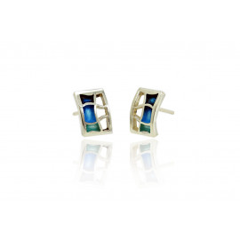 Earrings Pedrera Blue