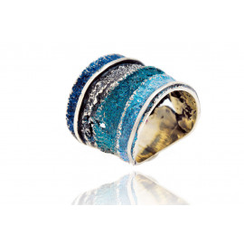 Sinera striped ring