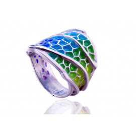 Colorful Trencadís Ring