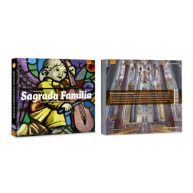 Basilica of the Sagrada Familia. The most important creation of Gaudí