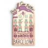 Casa Batlló Wood Magnet