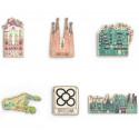 Casa Batllo Wood Magnet