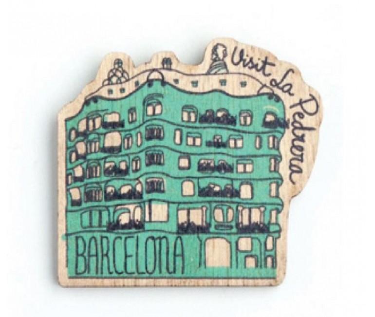 Imant fusta La Pedrera-Casa Milà