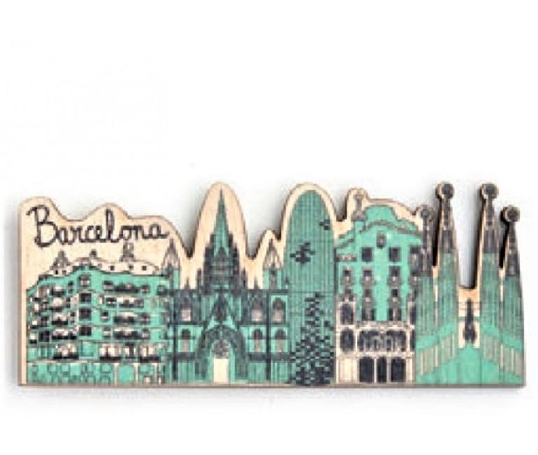 Imant fusta Flor Barcelona
