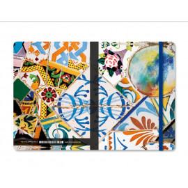 Llibreta Gaudí Trencadís