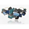 Modernist Enamel Bracelet