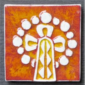 Imán en cerámica agujas de La Sagrada Familia