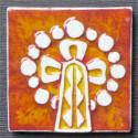 Imán en cerámica pináculo La Sagrada Familia