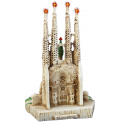 Little Sagrada Familia in resin