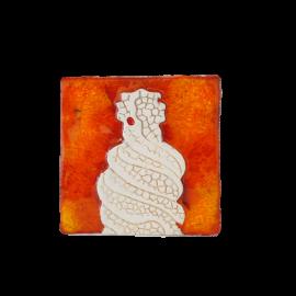 Imant en ceràmica xemeneia de La Pedrera