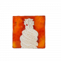 Ceramic Magnet La Pedrera Chimney