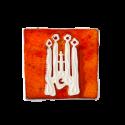 Aimant en céramique La Sagrada Familia