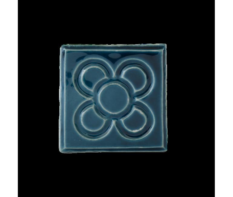 Aimant en céramique fleur Barcelona