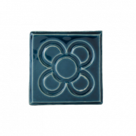 Ceramic Magnet Barcelona Flower