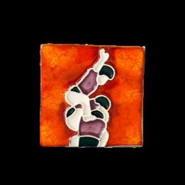 Imán en cerámica Castellers