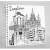 Sketching Barcelona Notebook
