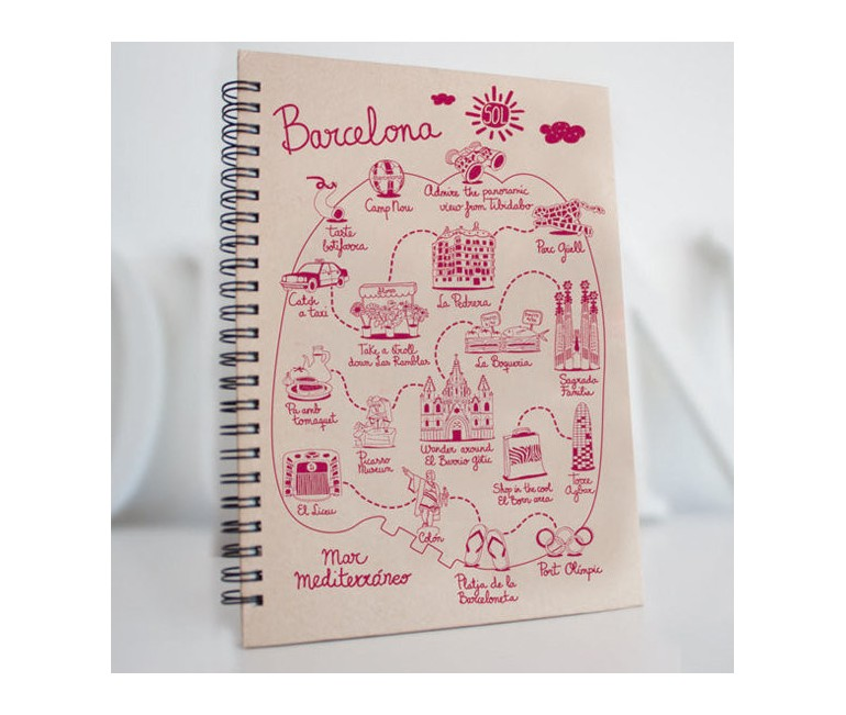 Carnet Sketching Barcelona